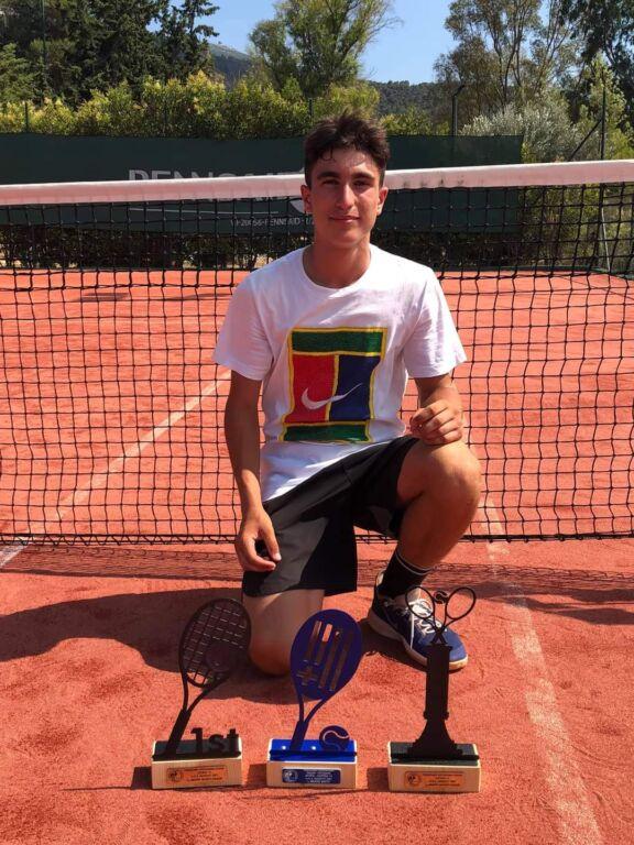 Πρωταθλητής Ελλάδος στα Junior ο Στέφανος Πουρναροπουλος από την Πρέβεζα!